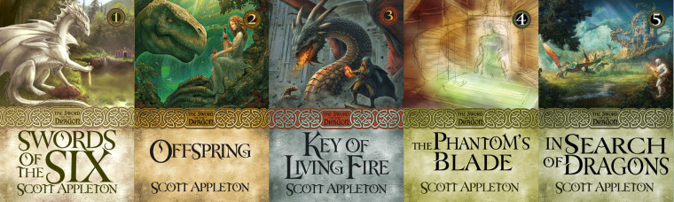 The Sword of the Dragon series so far