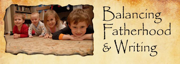 balancing fatherhood writing
