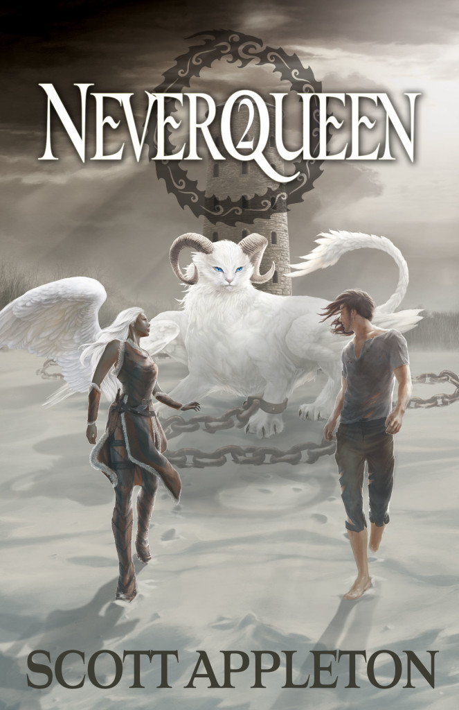 Neverqueen2 fantasy book cover