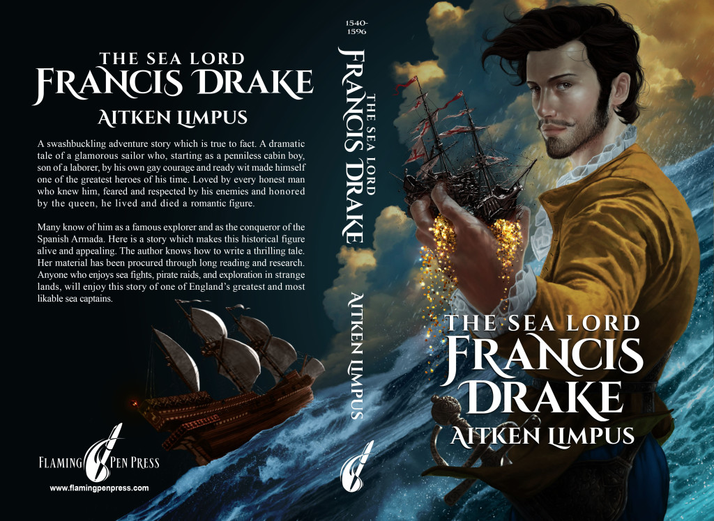 The Sea Lord Francis Drake full cover layout